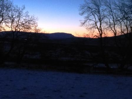 Penygent dawn