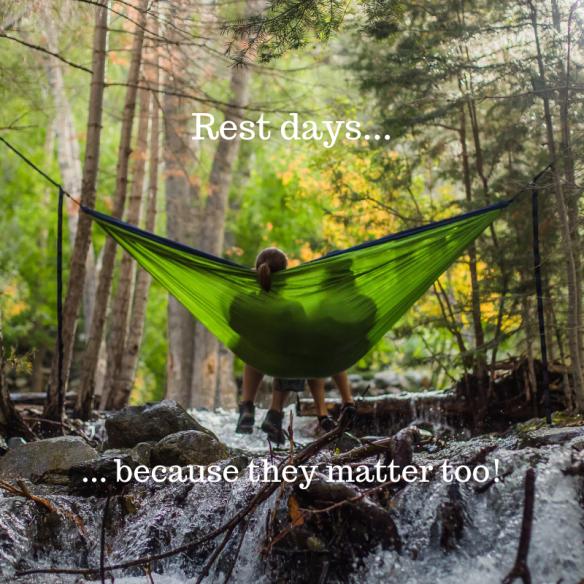 Rest days...